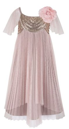 gatsby style flowergirl dresses | Fab fashion that will have your flowergirls looking cute-as-a-button!