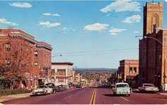 Superior Avenue, Looking East, Crystal Falls, ca. 1961 http://www.dcl-lib.org/images/files/Genealogy/PhotoCrysFal.pdf … #CrystalFallsMI
