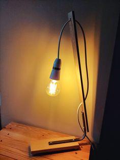 Night light Drill Press, Steel Bar, Table Saw, Wood Pallets, Desk Lamp, Night Light, Bulb, Glass, Drill