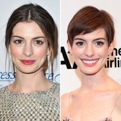 Anne Hathaway - Best celeb before and after of 2012.  hands down.