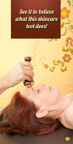 Try the Kansa Face Massage- all natural, easy, effective and extremely relaxing. For centuries, ancient Ayurvedic wisdom and unique tools have been used together to enhance health and strength, increase energy, support general well-being & longevity and relieve stress.