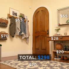 Organize your entryway with these design hacks and decorating tips.