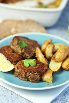 Vegan μπιφτέκια με πατάτες   Cool Artisan Tandoori Chicken, Cooking Time, Ethnic Recipes, Food, Essen, Meals, Yemek, Eten