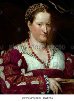 portrait-of-a-woman-1550-painting-of-prospero-fontana-16th-century-DW8RK0.jpg (1018×1390)