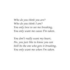 One Direction Lyrics ❤ You just like to know you can still be the one who gets it breaking
