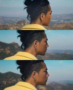 His hair! Curly Hair Men, Curly Hair Styles, Asian Men Long Hair, Undercut Hair Designs, Barber Man, Man Bun Hairstyles, Knot Bun, Soul Brothers, Haircuts For Men