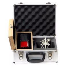 Avantone Pro CR-14 Ribbon Professional XLR Microphone + shockmount + roadcase #Avantone