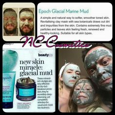 ⛤Marine Mud⛤  Now THIS is amazing i cannot wait to recieve mine!! ✴️Suitable for ALL skin types, even sensitive skin! ✴Use it all over your body! ✴️Absorbs excess oils. ✴Helps clear breakouts. ✴️You can literally watch it extract the dirt and blackheads from the part of skin appied to. ✴️It is a deep exfoliation, which leaves your skin smooth and refreshed.  ✴️ (MY FAVOURITE....)Helps reduce the appearance of ⛤STRETCH MARKS⛤  Message me to order yours 💋 New Skin, Your Skin, Glacial Marine Mud, Clay Masks, Stretch Marks, Smooth Skin, Sensitive Skin, Leaves, Deep