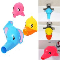 >> Click to Buy << Wholesale 1 pcs Cute Cartoon Animal  Faucet Extender For Kid Children Hand Washing In Bathroom Sink 3 Colors #Affiliate