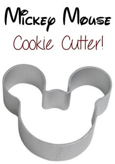 Mickey Mouse Cookie Cutter ~ add it to your baking collection, or use it as a tracing template for crafts! #mickeymouse #thefrugalgirls