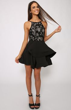 Rydge Dress - Black