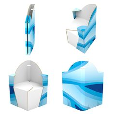 Diversos 3D's de displays para PDV - MIB GROUP S. A. on Behance