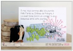 """Couleuretscrap : Tampons & matrices de coupe (dies) #4enscrap """"La vie en images"""" Grimm, Hello Family, Tampons, Books, Images, Peek A Boos, Libros, Book, Book Illustrations"""