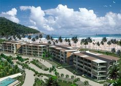1 Bedroom Brand New Condo for Sale in Naithon Beach. This very unit is a 1 bedroom apartment in the project. They have 43 sq m living space, 1 bathroom and full furniture.  The price start from 3,350,000 Thai Baht.