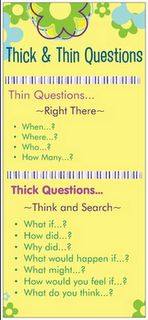 Thick, thin and think questions