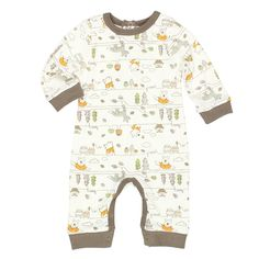Amazon.com: Winnie the Pooh Baby Boys Coverall Romper: Clothing