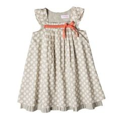Somehow I had it in my head that Easter dresses needed to be big and poofy!  How cute is this one?