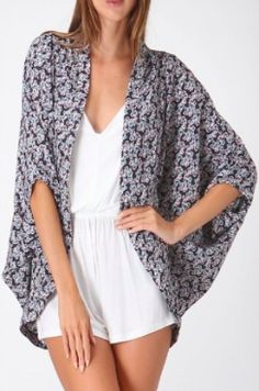 BohoPink - Honey Punch Floral Print Kimono, $29.00 (http://www.bohopink.com/honey-punch-floral-print-kimono/)