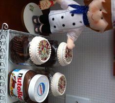 by Penov-Variétés Antes: Nutella. Depois Lindos potes.....