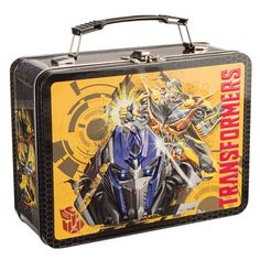 Vandor 41170 Transformers Movie Heroes Large Tin Tote, Multicolor, 2015 Amazon Top Rated Lunch Bags #Kitchen