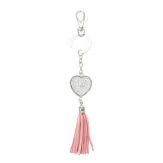 Crystal Heart Keyring, Keyrings, all, Accessories, Gifts & Novelty, Keyrings Fashion trends, accessories and jewellery for young women