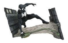 Black Costume Spider-Man, Daredevil, Black Panther, and More Spring Releases Coming From Diamond Marvel News, Marvel Heroes, Spider Man Series, Pokemon, Steve Ditko, Black Costume, Action, Marvel Entertainment, Marvel Movies