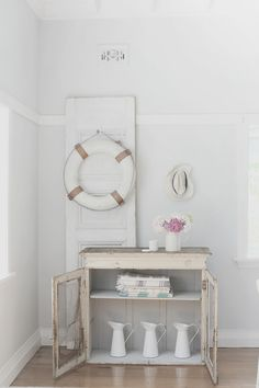 Image of vintage French cupboard