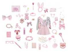 """""""ailen princess"""" by unicorn-923 ❤ liked on Polyvore featuring So in Fashion, Newbreed Girl, WithChic, Accessorize, Bocage, Betsey Johnson, Tri-coastal Design, Hello Kitty, BOBBY and DESIGNWORKS INK"""