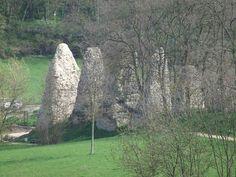piliers de l'acqueduc de mayence