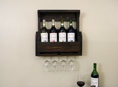 A personal favorite from my Etsy shop https://www.etsy.com/listing/159119970/wine-rack-fathers-day-gift-pallet-wine