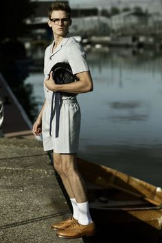 Chris Doe & Gavin Jones in Seafarers by Thomas Schmidt for Fashionisto Exclusive