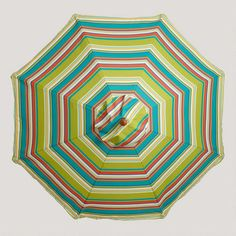 One of my favorite discoveries at WorldMarket.com: 9' Thailand Stripe Umbrella Canopy
