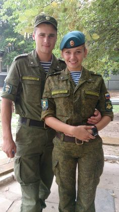 Russian Military Couple