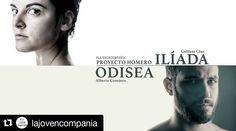 ENTRADAS YA A LA VENTA Proyecto Homero. 5 a 30 de abril en Teatro Conde Duque  #theatre #actor #greece #homero #odyssey  #illiad  #regram @lajovencompania with @repostapp  Entradas de #ProyectoHomero a la venta! http://goo.gl/Eg6JYq  #Ilíada de @guillemclua / #Odisea de @albertoconejerolopez Dirección: José Luis Arellano  Del 5 al 30 de ABRIL en el #Teatro #CondeDuque de #Madrid. No te lo pierdas! by pedroj.sanch