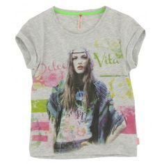 Vingino - T-shirt Huberta grijs