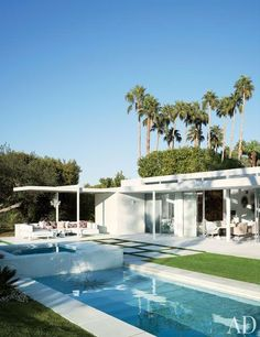 Emily Summers's California Desert Retreat :Architectural Digest