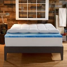 This foam mattress topper that lets you sleep better and work harder. | 54 Expensive Products You Won't Regret Purchasing