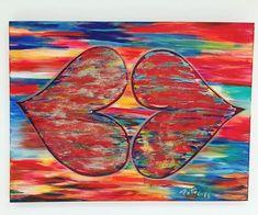 ColorFULL SMACK#(120 x100 cm) #happyartbypato