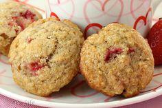 San Diego Strawberry Muffins