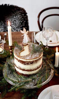 Itsenäisyyspäivän kakku   Meillä kotona Macaroons, Scandinavian Food, Xmas Food, Recipes From Heaven, Yummy Cakes, No Bake Cake, Amazing Cakes, Eat Cake, Love Food