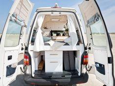 Rent Camper, Build A Camper Van, Bus Camper, Camper Life, Rv Life, Camper Trailers, Travel Trailers, Van Conversion Interior, Camper Van Conversion Diy