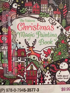 the usborne christmas magic painting book fiona watt