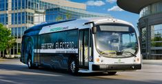 LA moves toward an electric future with 25 new electric buses from Proterra