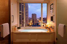 Suite Bathroom at The Peninsula Chicago