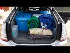 4. How much can fit in a prius? A lot. - YouTube