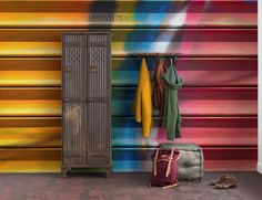 Colorfully Closed is an urban style wall mural designed by Derek Prospero. Order your made-to-measure wallpaper online. Free delivery and paste included. Wallpaper Suppliers, Opening A Restaurant, Print Wallpaper, Wallpaper Ideas, Wallpaper Online, Bespoke Design, Urban Fashion, Vivid Colors, Wall Murals
