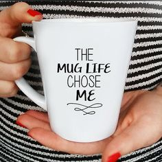 Mug Life Quote Coffee Mug Funny Mug Quote Mug by FranklyNoted