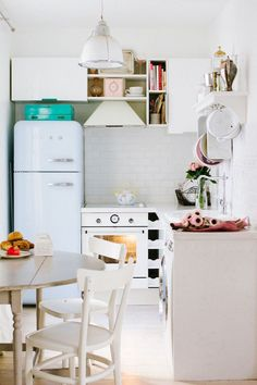 paris apartment tour #smallspaces kitchen design