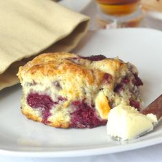 These raspberry white chocolate scones get rave reviews & are a big fan favorite on Rock Recipes. They have become a must have weekend brunch item for many.