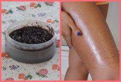 ♡Exfoliant Anti-Cellulite au Café♡Café en grain (ou marc de café)+Sel (sucre, etc.)+ Huile (celle que vous voulez) aprés le bain ou la douche/résultat visible aprés 2 semaines